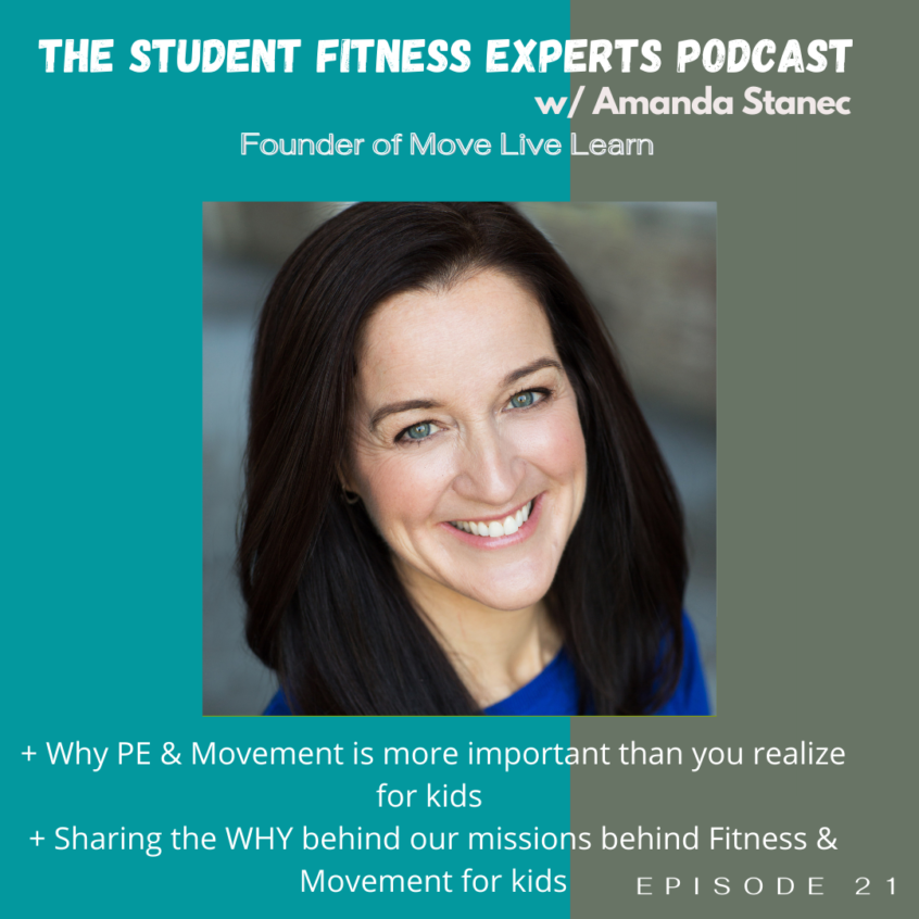 The Founder of Move, Live, Learn, Dr. Amanda Stanek